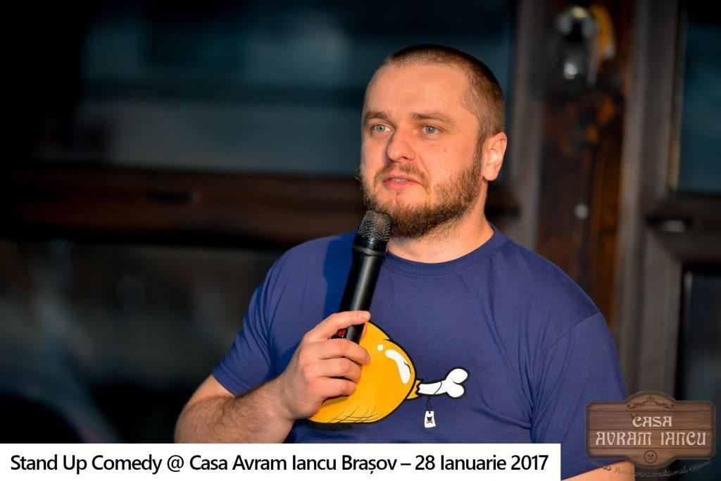 Galerie foto – Stand Up Comedy @ Casa Avram Iancu Brasov – 28 Ianuarie 2017