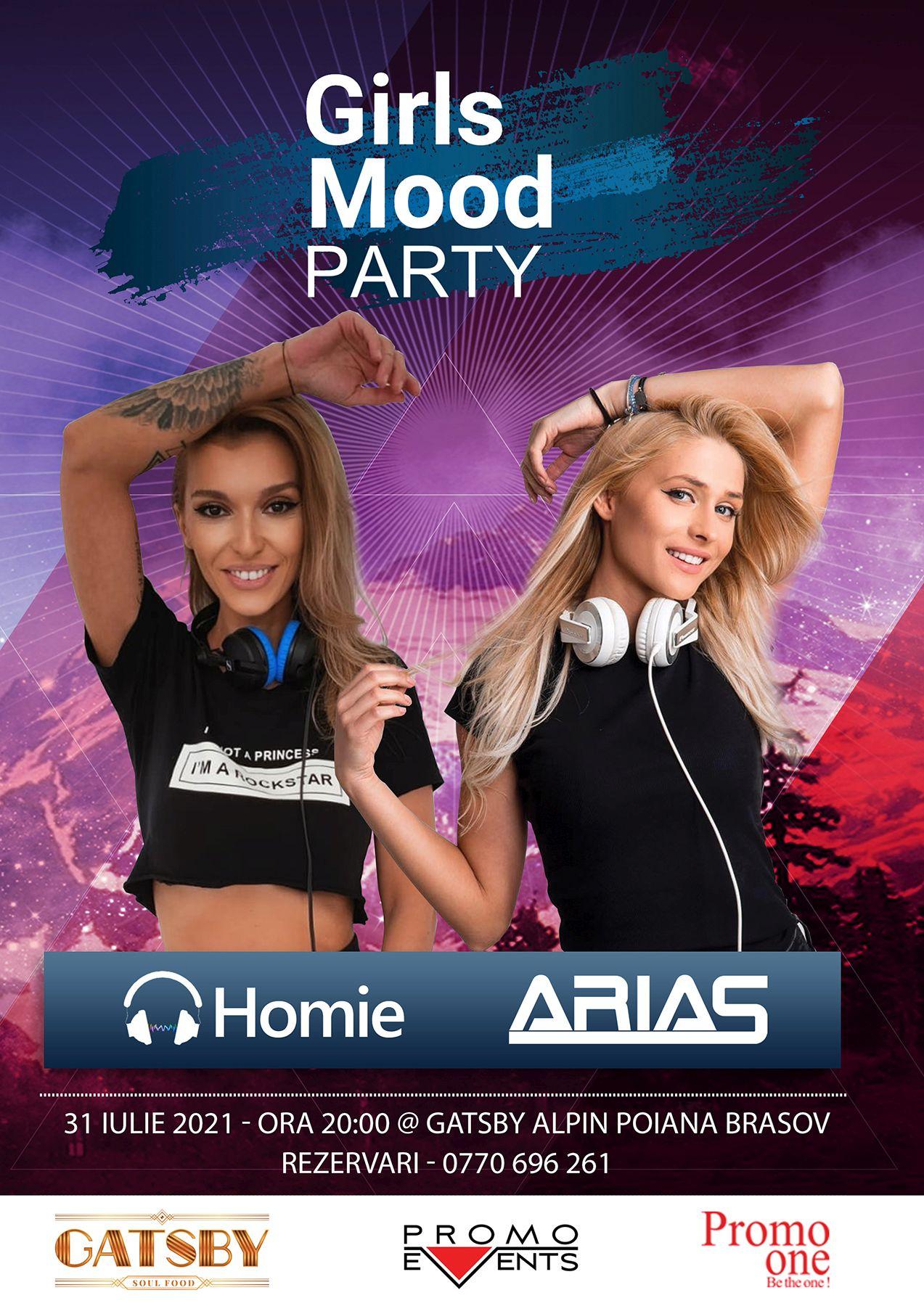 Girls Mood Party @ Gatsby Alpin, Poiana Brașov – 31 iulie 2021