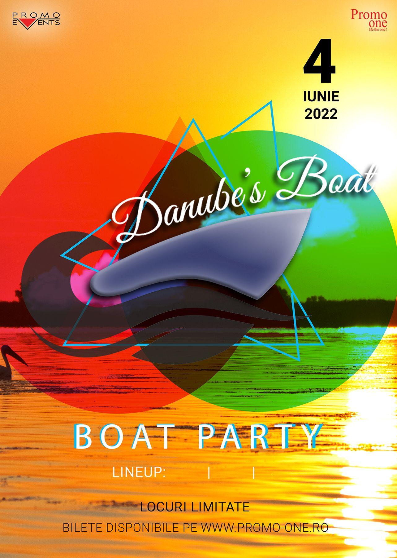 Danube's Boat – 4 iunie 2022